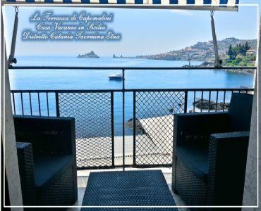 Casa VacanzeLa Terrazza di Capomulini panoramicissima