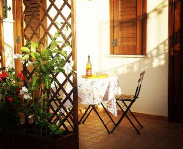Casa VacanzeA 150 m. dal mare di S.Vito lo Capo.