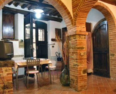 AppartamentoLa Tana del Brigante in stile rustico toscano