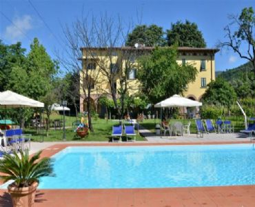 Villa VacanzeDAMA  presso Tenuta il Ponte con piscina