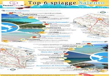 Leggi: Infografica: 6 spiagge del Salento