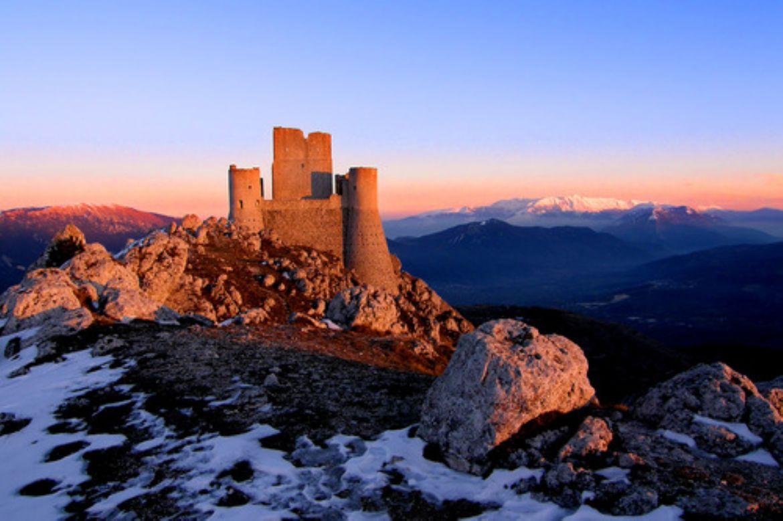 Rocca di Calascio: scenario da favola per il film Lady Hawke