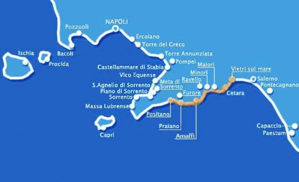 Costiera Amalfitana e i paesi più suggestivi - Hotelfree.it