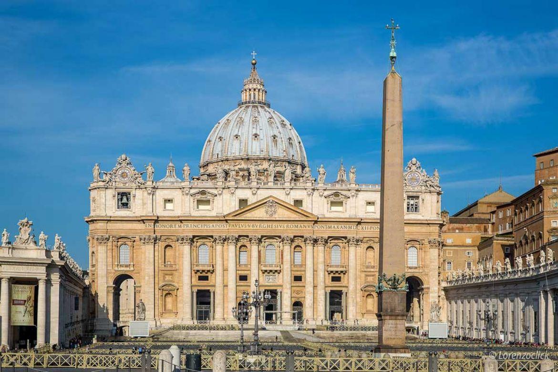 Città del Vaticano, visita alla Basilica Di San Pietro