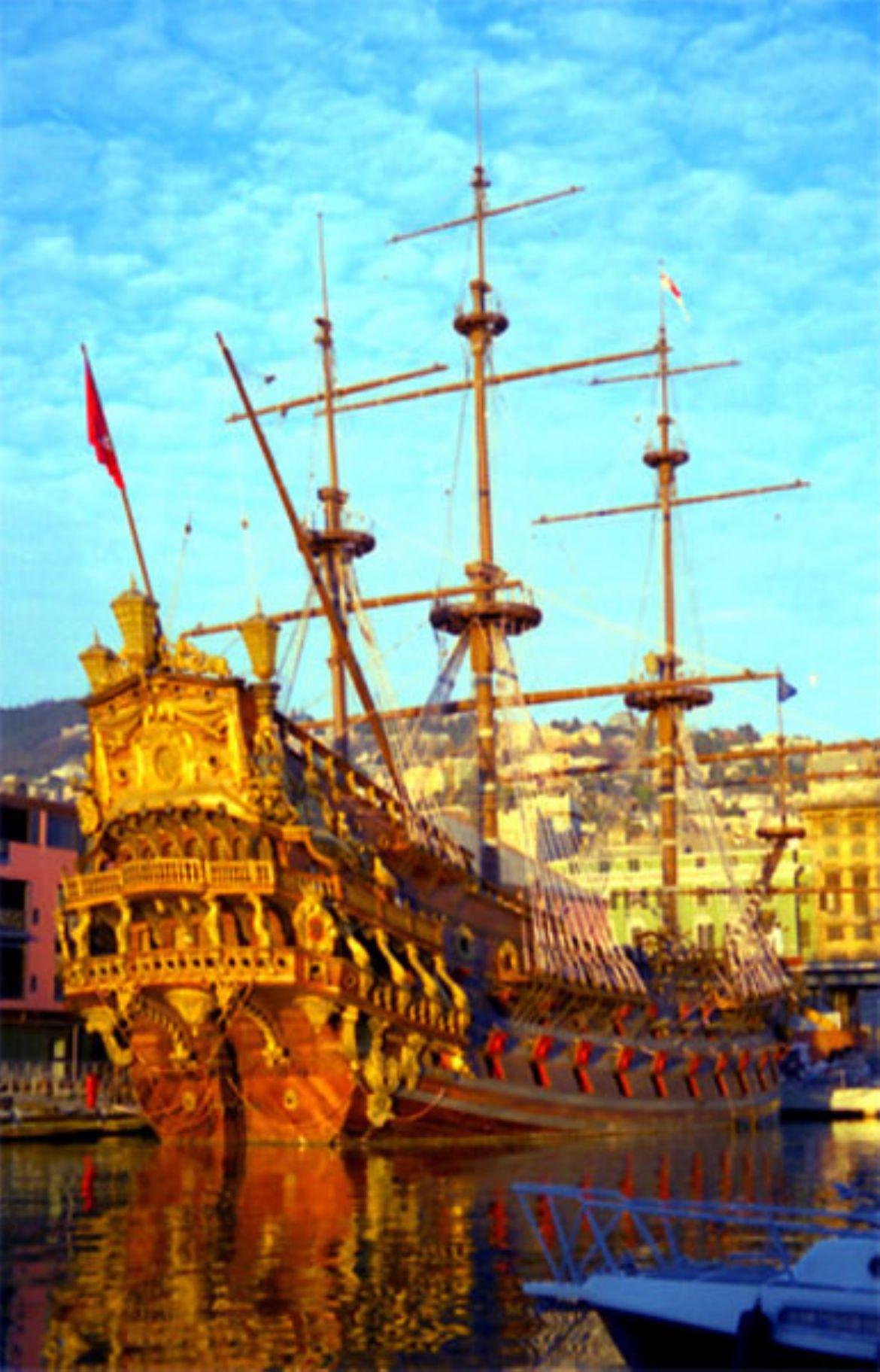 Il Galeone dei Pirati a Genova