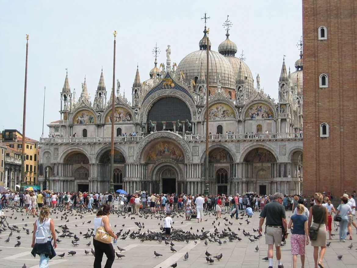 la basilica di san marco il fulcro della citt di venezia. Black Bedroom Furniture Sets. Home Design Ideas