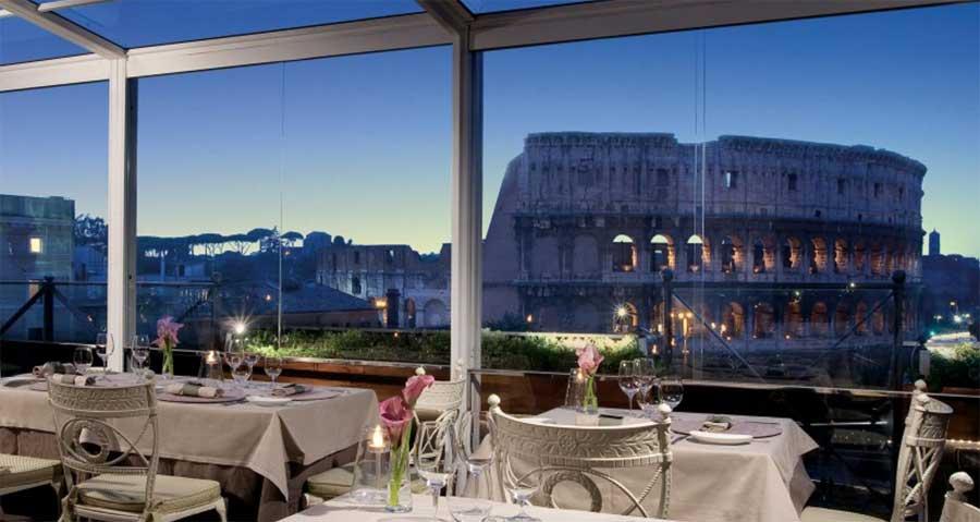 6 ristoranti chic di roma for Hotel milano centro economici