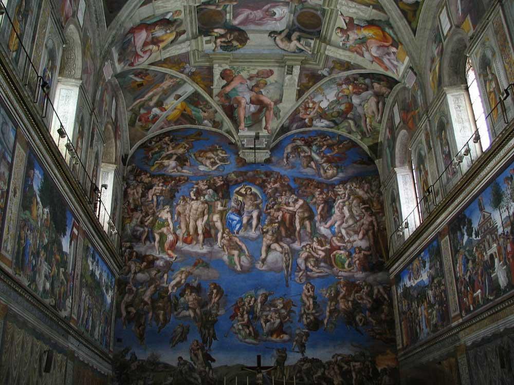 La cappella sistina l 39 incredibile capolavoro for Decorazione quattrocentesca della cappella sistina
