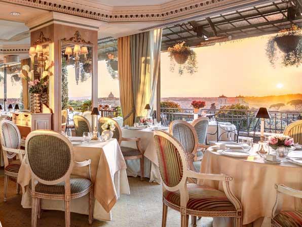 6 ristoranti chic di roma for Nomi di locali famosi