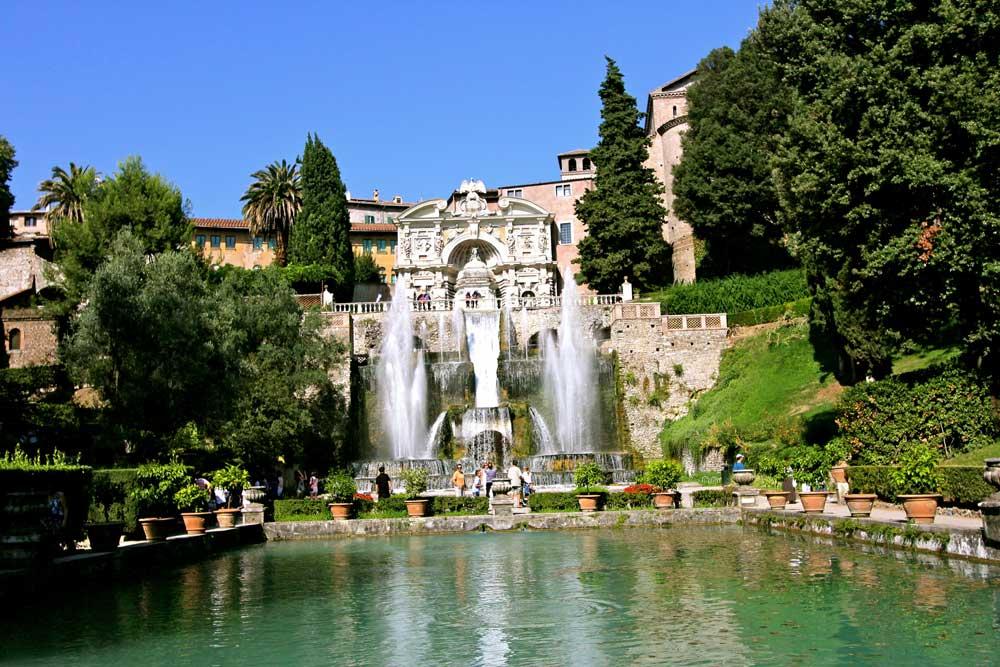 Villa adriana e villa d 39 este le maestose ville di tivoli for Esempi di ville