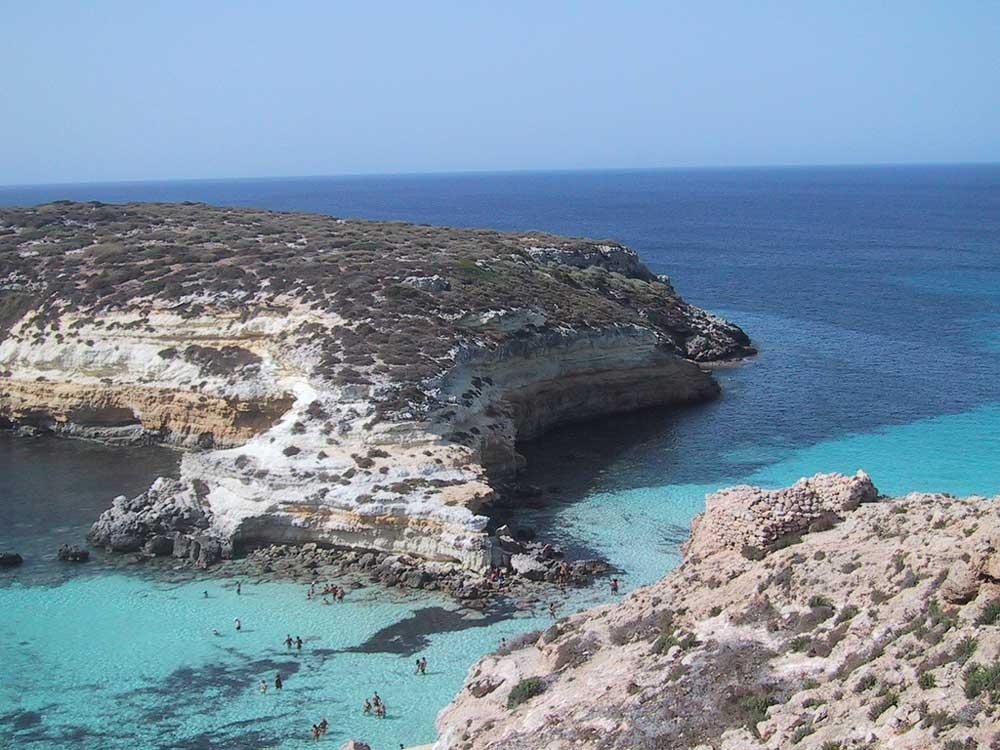 Spiagge Di Lampedusa 10 Foto Incredibili Hotelfree It