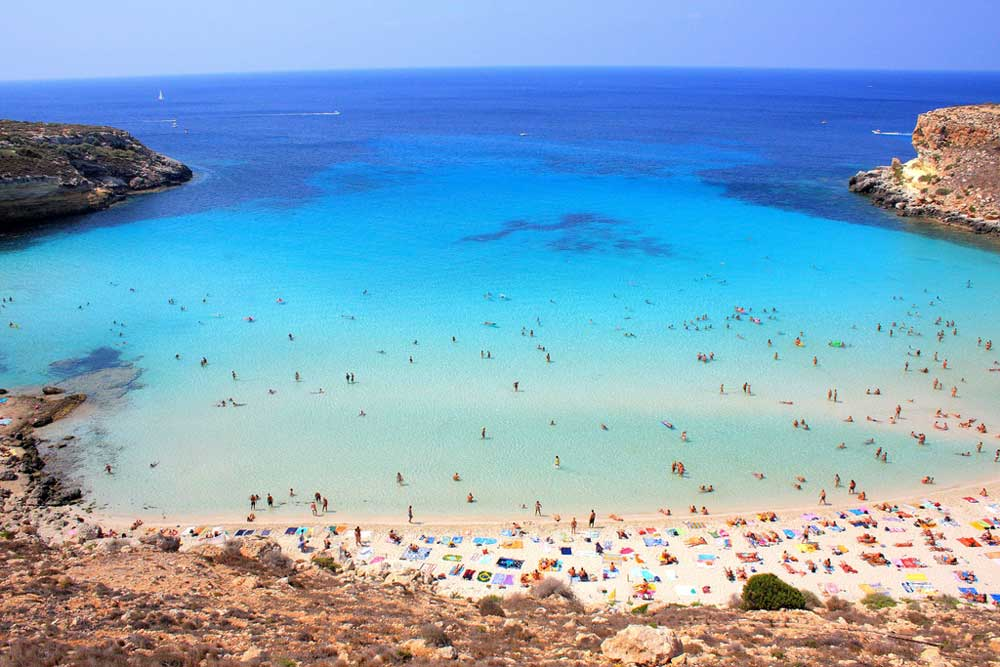 Spiagge Di Lampedusa 10 Foto Incredibili Hotelfree It