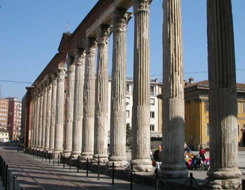 Colonne e Basilica di San Lorenzo